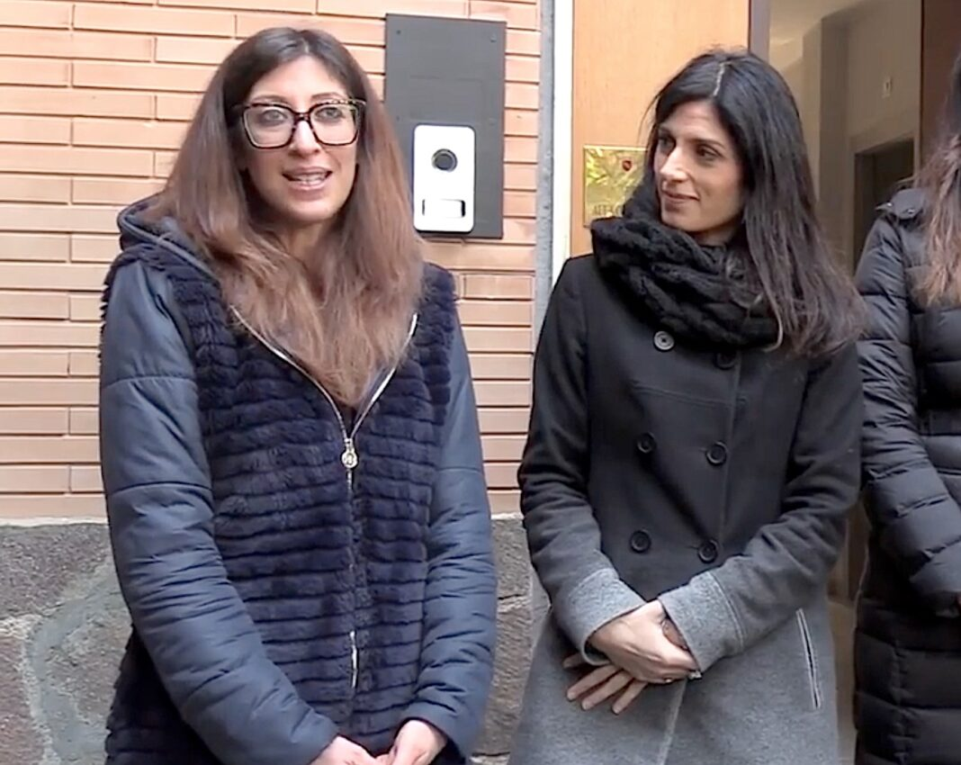 Veronica Mammì e Virginia Raggi